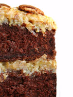 German Chocolate Cake from istock.com