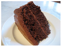 Thanks to Claire for this photo of a Chocolate Layer Cake