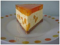 Thanks to Wendy for her Mango Cheesecake photo