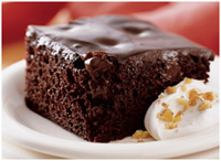 Chocolate Pudding Cake from Betty Crocker