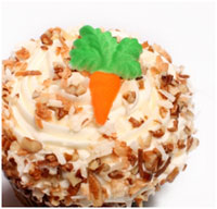 Carrot Cake Cupcakes from istock.com