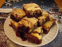Ann Meadow's Cream Cheese Brownie Recipe
