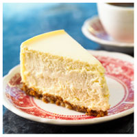 Plain Cheesecake from istock.com