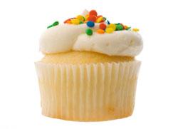 White Cupcake from istock.com